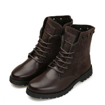 Martin Boots for Winter Style - BROWN BROWN