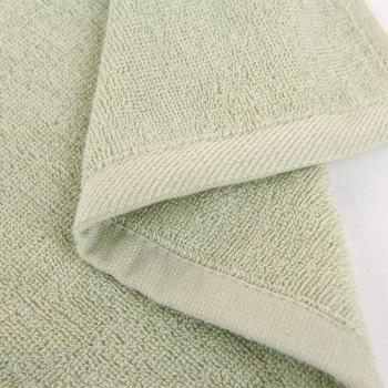 Bamboo Fiber Towel Wash Face for Men and Women -  GREEN