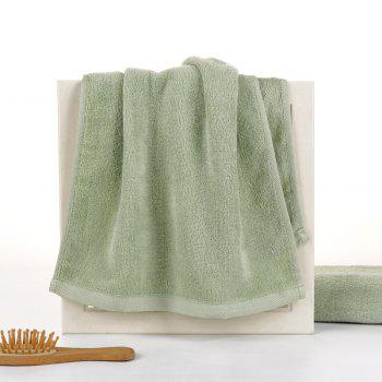 Bamboo Fiber Towel Wash Face for Men and Women - GREEN GREEN