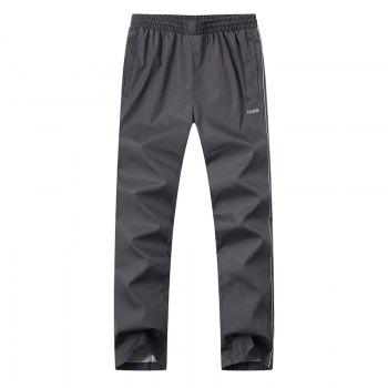 2017 New Thin Sports Suit - GRAY GRAY