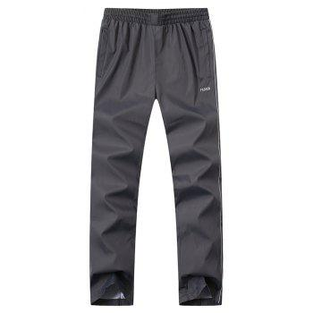 2017 New Thin Sports Suit - GRAY 5XL