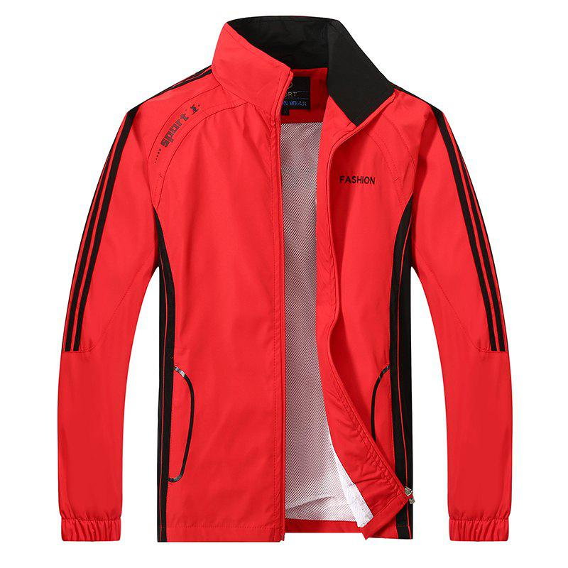 2017 New Thin Sports Suit - RED 3XL