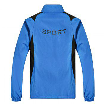 2018 New Sports Suit - BLUE 2XL