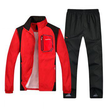 2018 New Sports Suit - RED RED