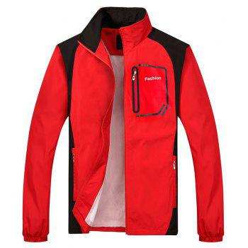 Fashion Sports Suit for Men - RED L