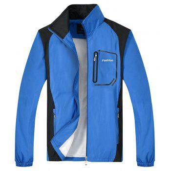 Fashion Sports Suit for Men - BLUE 5XL