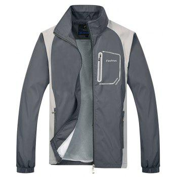 2018 New Sports Suit - GRAY 2XL