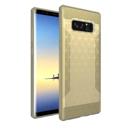 Silicone Case New Matte Brushed TPU Protective Cover for Samsung Galaxy Note 8 - GOLDEN