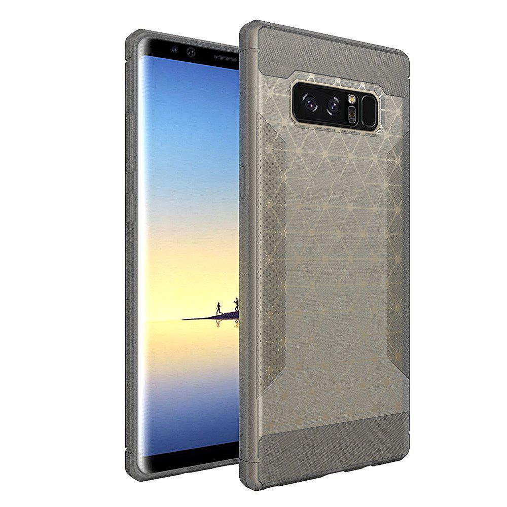Silicone Case New Matte Brushed TPU Protective Cover for Samsung Galaxy Note 8 - GRAY