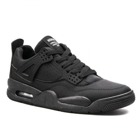 Autumn Leisure Outdoor Sports Men's Shoes - BLACK 43