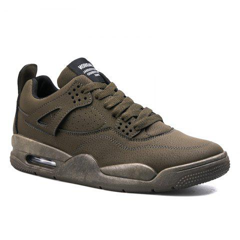 Autumn Leisure Outdoor Sports Men's Shoes - ARMYGREEN 43