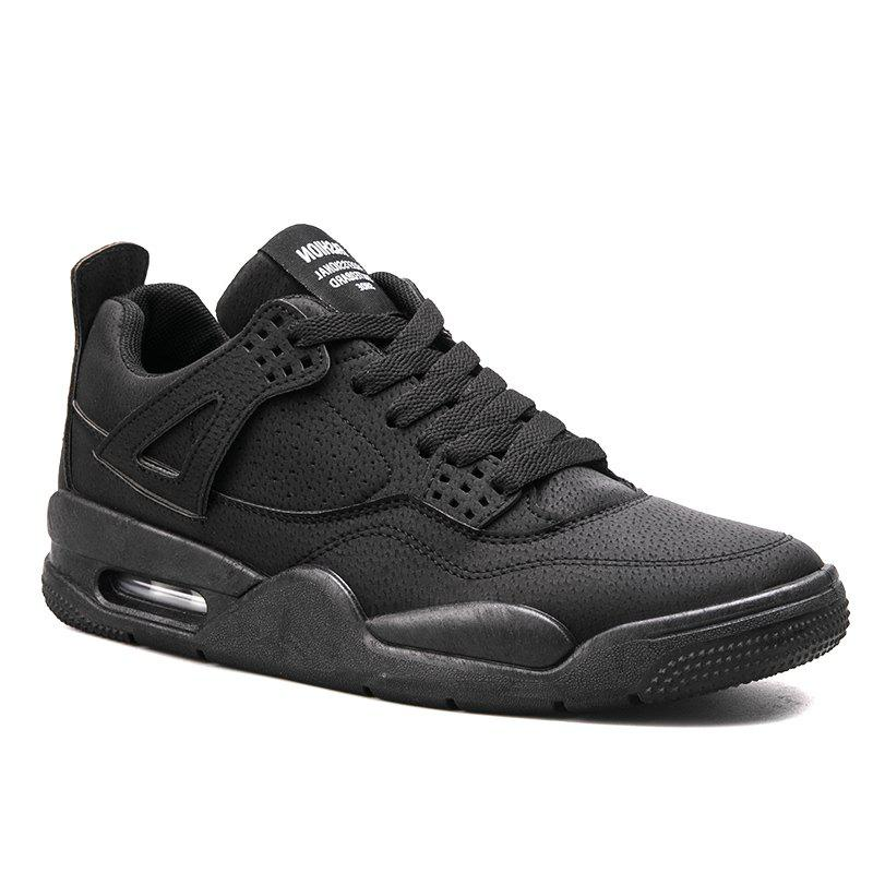Autumn Leisure Outdoor Sports Men's Shoes - BLACK 44