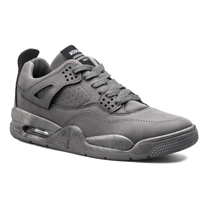 Autumn Leisure Outdoor Sports Men's Shoes - GRAY 39