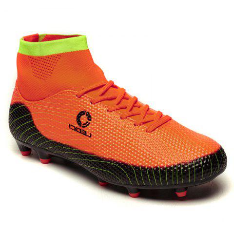 Men's High Top Soccer Cleats Football Boots Shoes - JACINTH 42