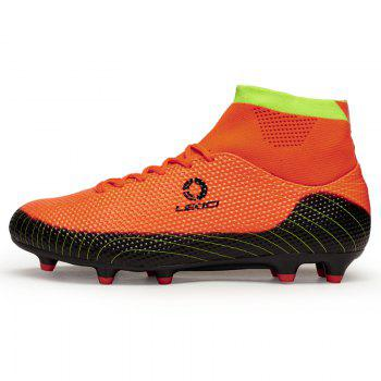 Men's High Top Soccer Cleats Football Boots Shoes - JACINTH 43