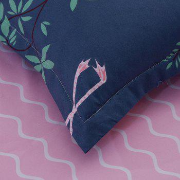 Fashion Bird Pattern Personalized Polyester Bedding Set - COLORMIX KING