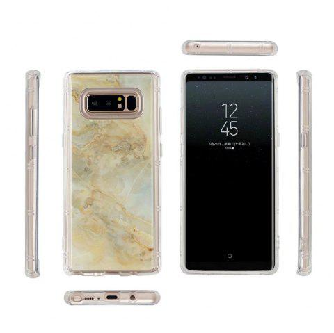 Smooth Surface Protector Anti-scratch Abrasion Resistant Defender Magic Case Cover for Samsung Galaxy Note 8 - GOLDEN