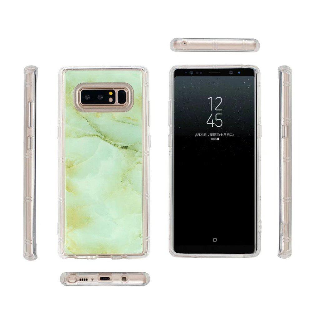 Smooth Surface Protector Anti-scratch Abrasion Resistant Defender Magic Case Cover for Samsung Galaxy Note 8 - GREEN