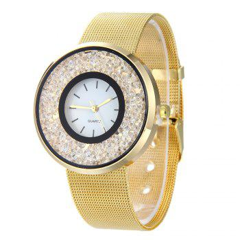 Fashion Women Quartz Watch - GOLDEN