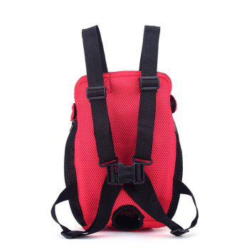 Lovoyager XQB1111 Pet Front Carrier Bag Breathable and Soft for Dog Cat - RED RED