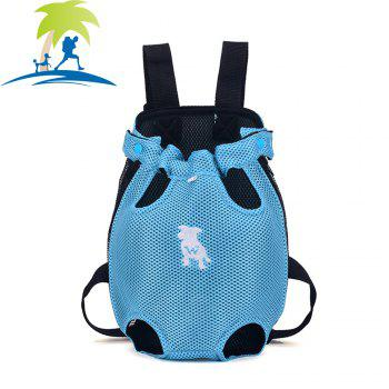 Lovoyager XQB1111 Pet Front Carrier Bag Breathable and Soft for Dog Cat - BLUE BLUE