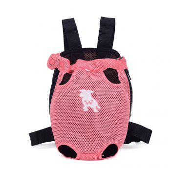 Lovoyager XQB1111 Pet Front Carrier Bag Breathable and Soft for Dog Cat - PINK PINK