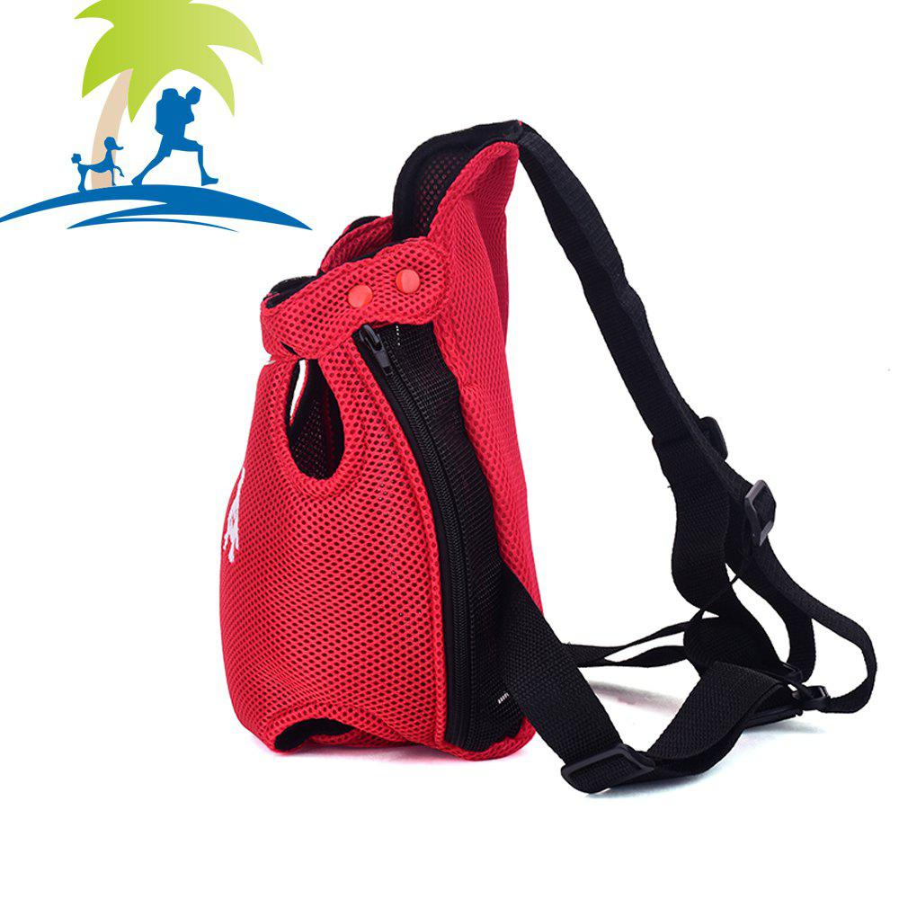 Lovoyager XQB1111 Pet Front Carrier Bag Breathable and Soft for Dog Cat - RED S