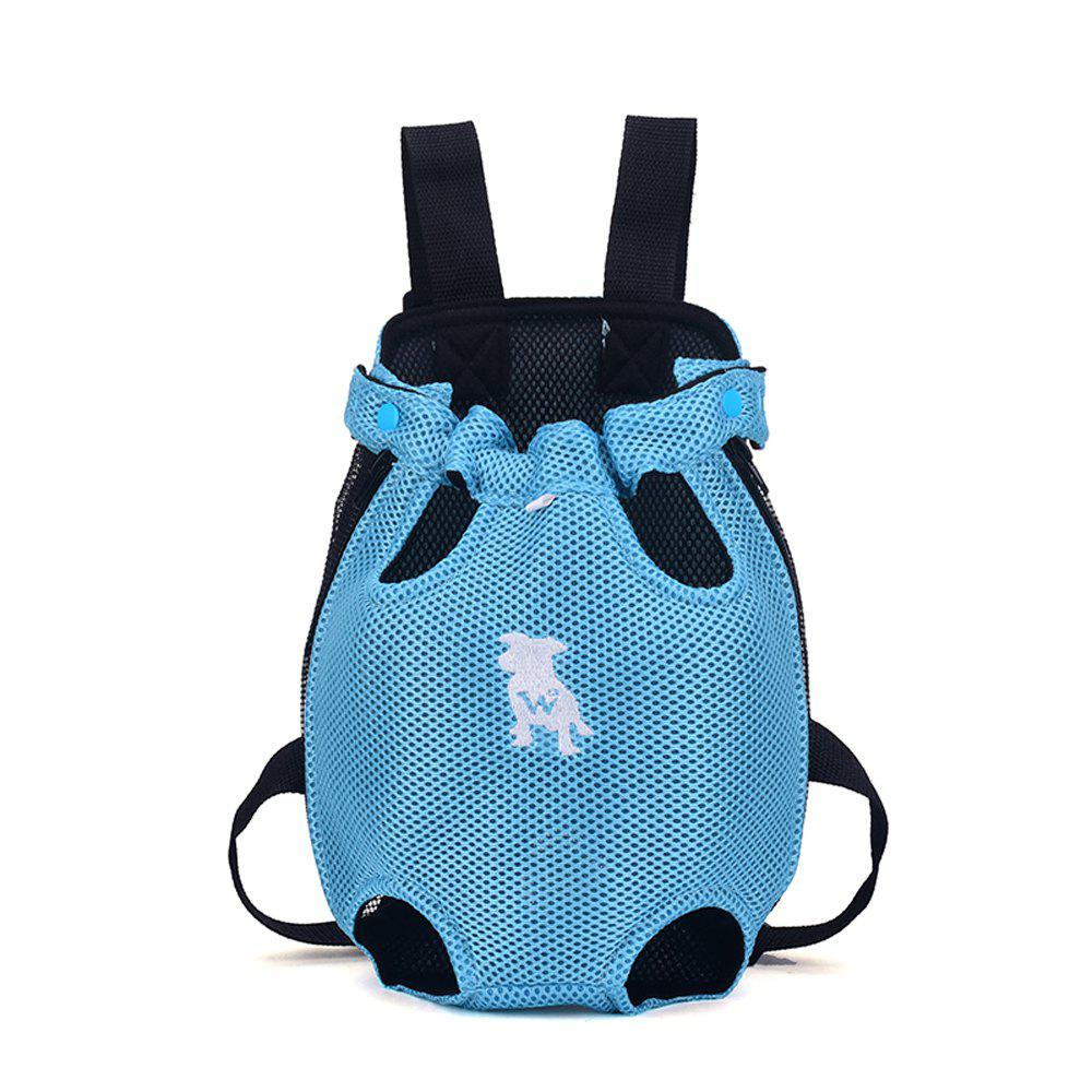 Lovoyager XQB1111 Pet Front Carrier Bag Breathable and Soft for Dog Cat - BLUE S