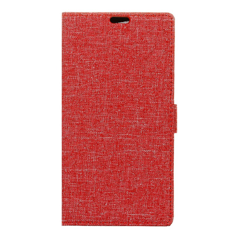 Wkae Retro Crocodile Pattern Business Leather Case for Huawei Mate 10 - RED