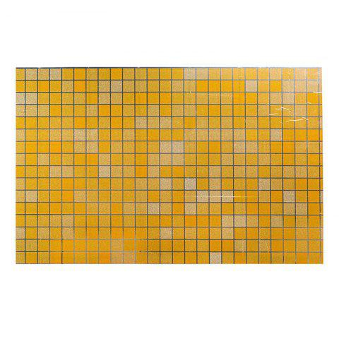DIHE Kitchen Oil Proof Wall Stickers Beautiful High Temperature Resistance - YELLOW