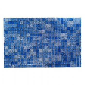 DIHE Kitchen Oil Proof Wall Stickers Beautiful High Temperature Resistance - BLUE BLUE