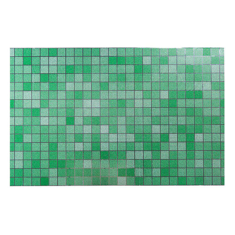 DIHE Kitchen Oil Proof Wall Stickers Beautiful High Temperature Resistance - GREEN