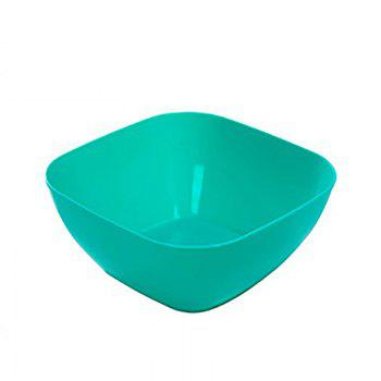 DIHE Plastic Square Snack Bowls Durable Various Styles - BLUE BLUE