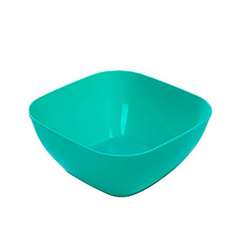 DIHE Plastic Square Snack Bowls Durable Various Styles - BLUE