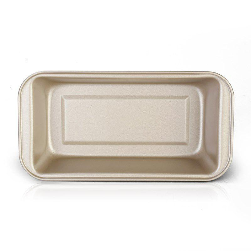 DIHE 500G Carbon Steel Toast Baking Dish Bakeware Pan - GOLDEN