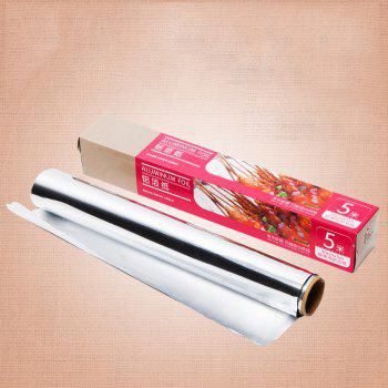 DIHE 5Meters Baking Aluminum Foil Relaxed Not Sticky High Temperature Resistant - COLORMIX