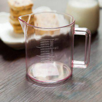 DIHE 250ml Scale Transparent Measuring Cup Easy to Use - COLORMIX