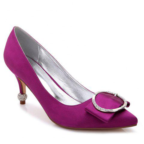 17767-41Women's Shoes Wedding Shoes - PURPLE 37