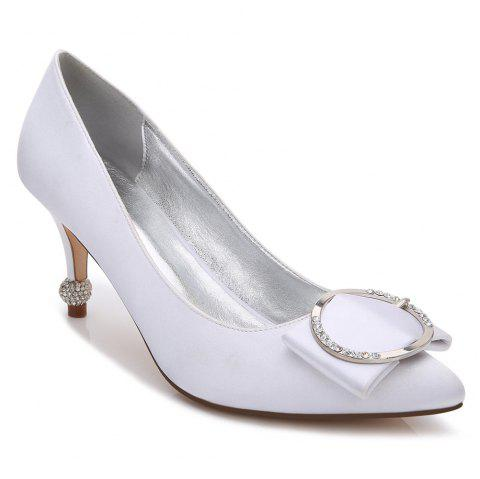 17767-41Women's Shoes Wedding Shoes - WHITE 40