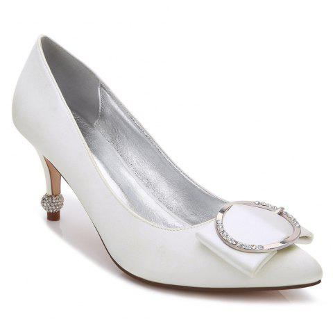 17767-41Women's Shoes Wedding Shoes - IVORY COLOR 41