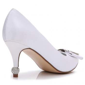 17767-41Women's Shoes Wedding Shoes - WHITE 37