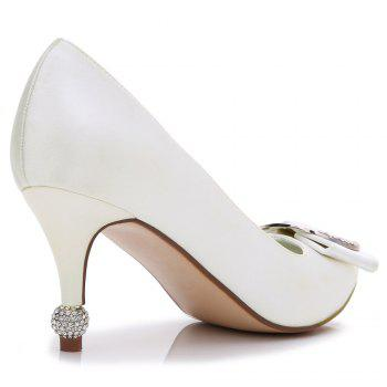 17767-41Women's Shoes Wedding Shoes - IVORY COLOR 40