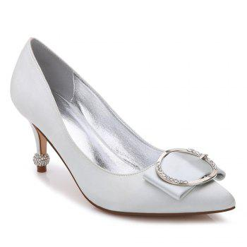 17767-41Women's Shoes Wedding Shoes - SILVER SILVER