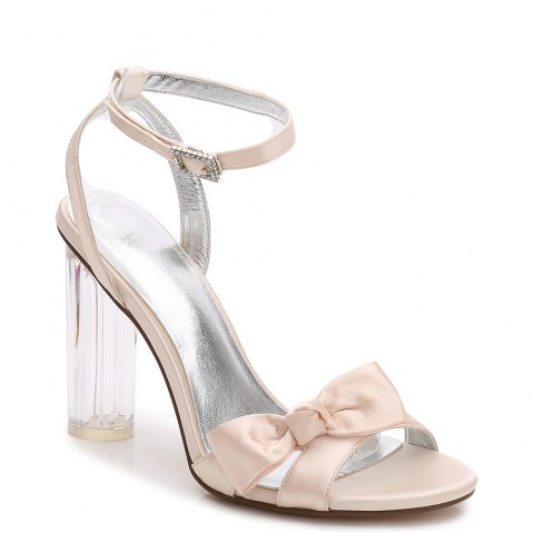 2615-1Women's Shoes Wedding Shoes - CHAMPAGNE 38