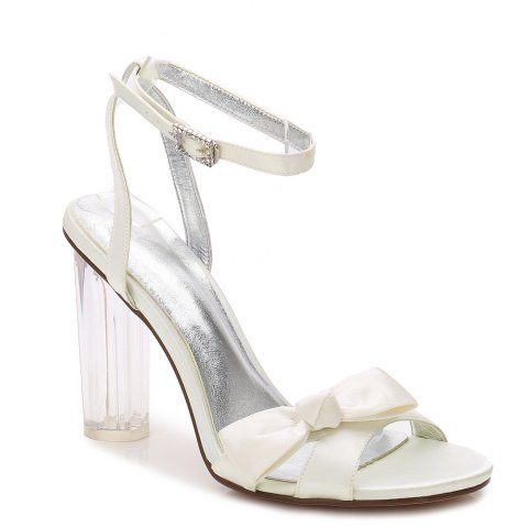 2615-1Women's Shoes Wedding Shoes - IVORY COLOR 40
