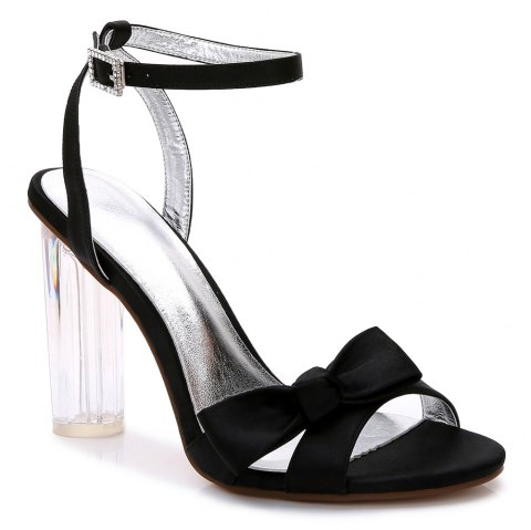 2615-1Women's Shoes Wedding Shoes - BLACK 37