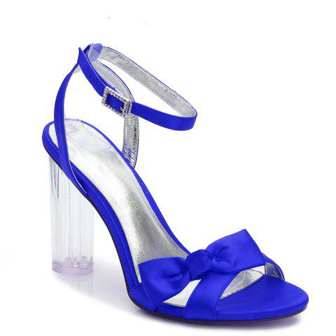 2615-1Women's Shoes Wedding Shoes - BLUE 42