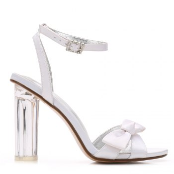 2615-1Women's Shoes Wedding Shoes - WHITE 38