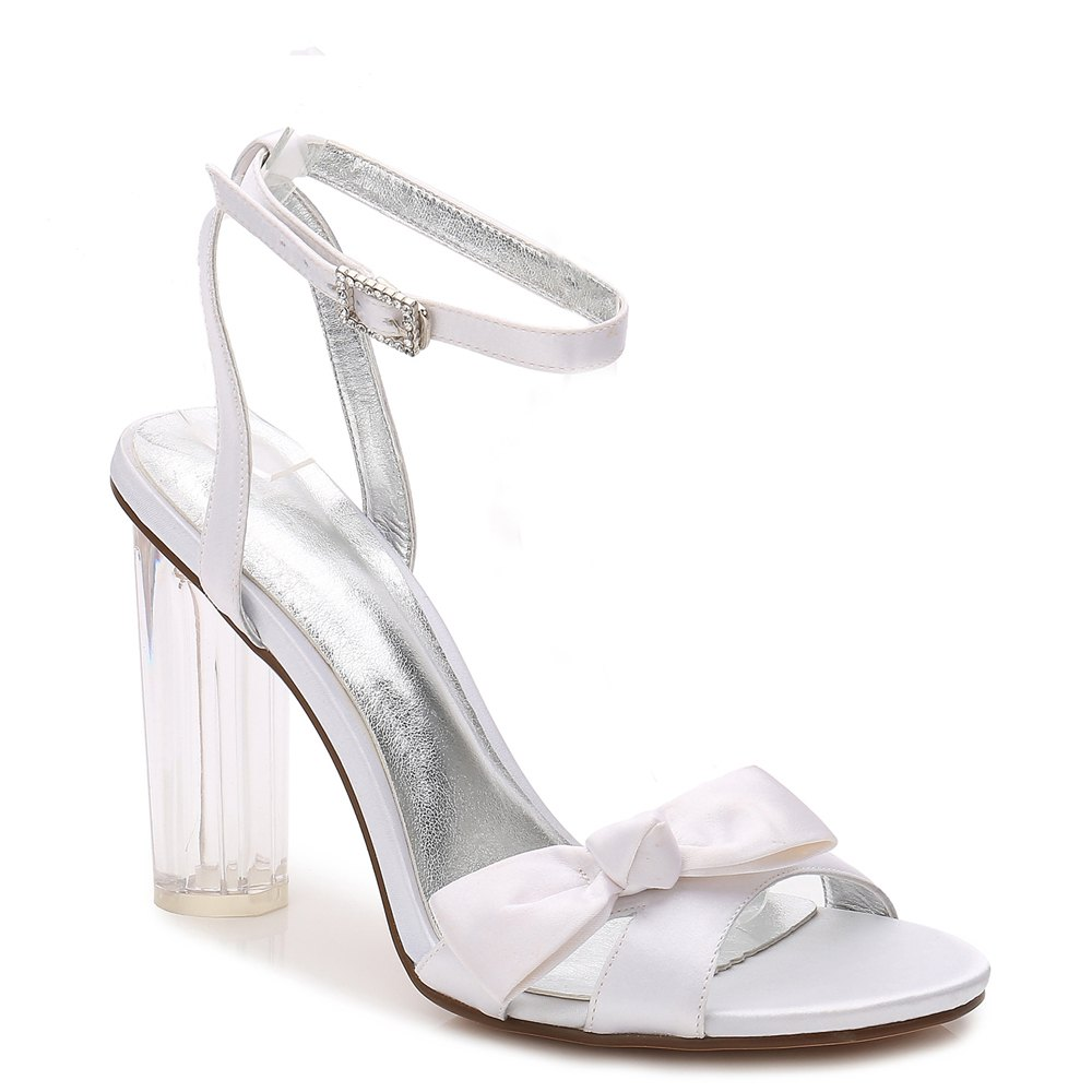 2615-1Women's Shoes Wedding Shoes - WHITE 39