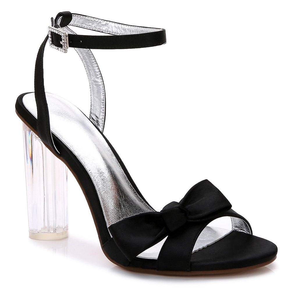 2615-1Women's Shoes Wedding Shoes - BLACK 41
